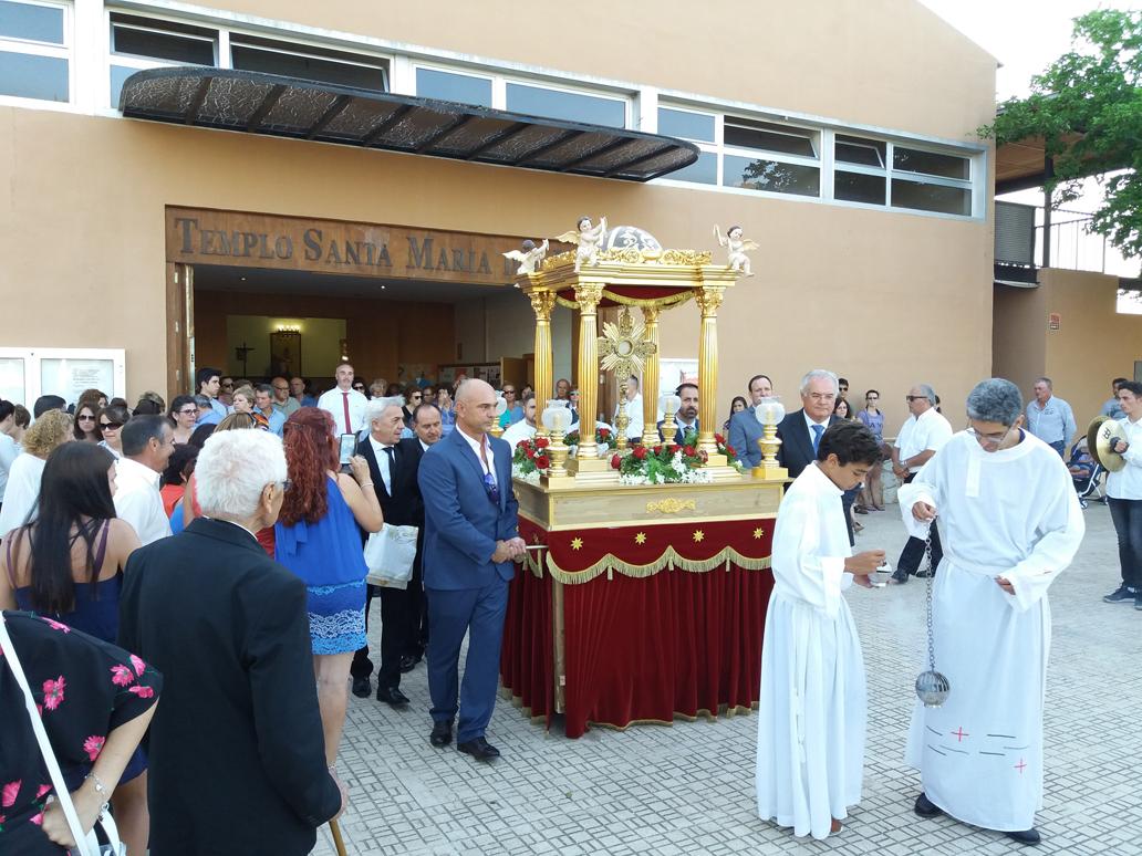 Parroquia El Altet - Salida de Santa María