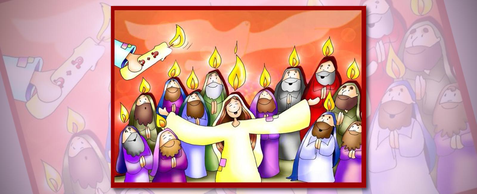 Parroquia El Altet - Evangelio Domingo de Pentecostés 2019