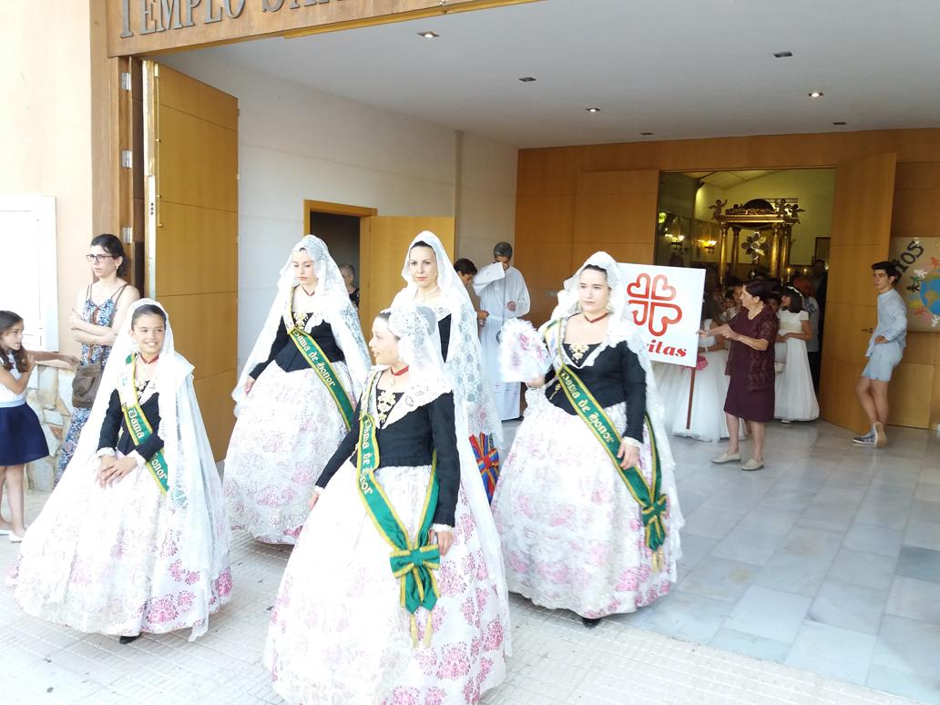 Parroquia El Altet - Las damas de honor