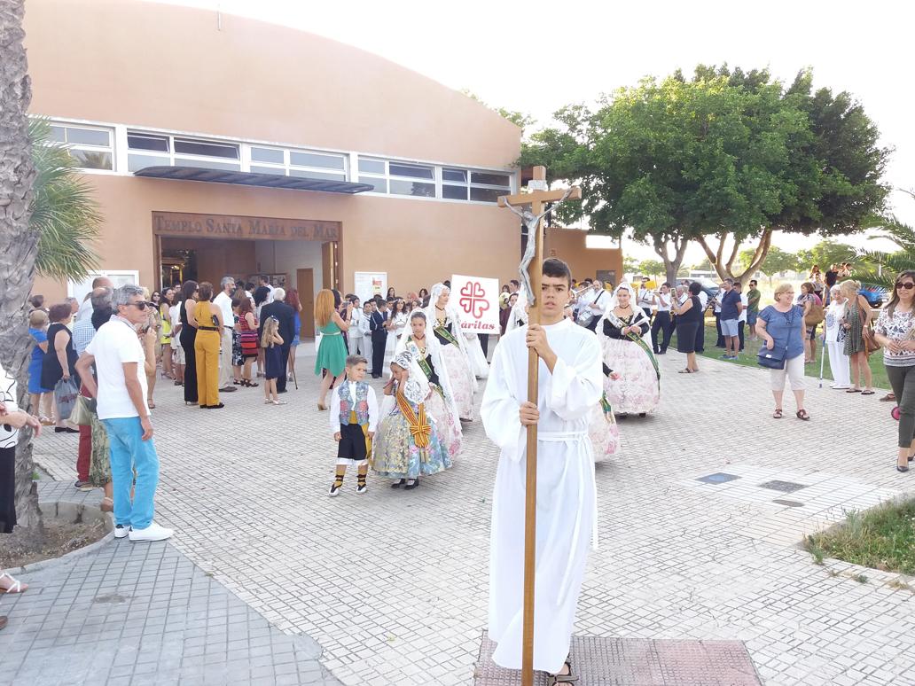 Parroquia El Altet - Los niños en procesión